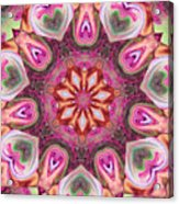 Heart Garden Acrylic Print