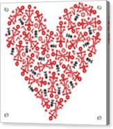 Heart Icon Acrylic Print