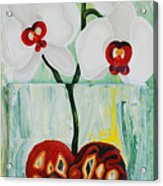 Heart In Bloom Acrylic Print