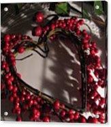 Heart In Shadow Acrylic Print