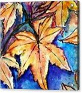 Heart Of Fall Acrylic Print