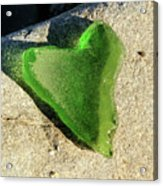 Heart Of Glass Acrylic Print