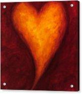 Heart Of Gold 2 Acrylic Print