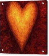Heart Of Gold 3 Acrylic Print