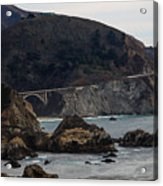 Heart Of The Bixby Bridge Acrylic Print