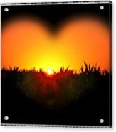 Heart Of The Sunrise Acrylic Print