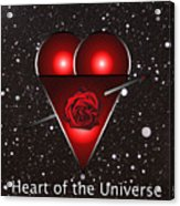 Heart Of The Universe Acrylic Print