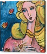 Heart Of Venus Acrylic Print