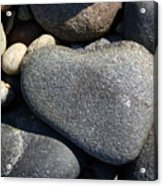Heart Rock Acrylic Print