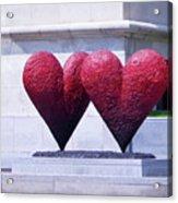 Heart To Heart Acrylic Print