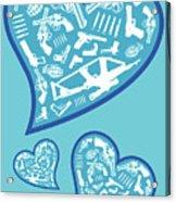 Heartbeats Acrylic Print