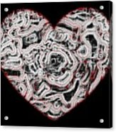 Heartline 1 Acrylic Print