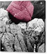 Heartrock Acrylic Print