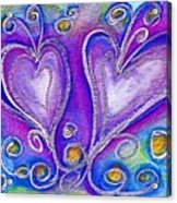 Hearts 1 Acrylic Print
