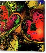 Hearts Adrift Acrylic Print