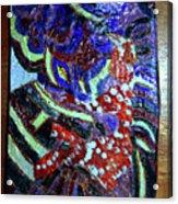Hearts Drum 7 Acrylic Print