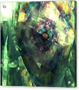 Hearts In Bloom 2 Acrylic Print
