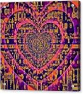 Hearts International Acrylic Print