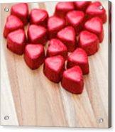 Hearty Heart Acrylic Print