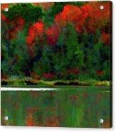 Heavy Tones Seasons Fall  Acrylic Print