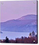 Heavenly Alpenglow Acrylic Print