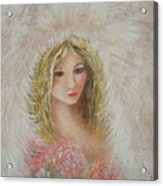 Heavenly Angel Acrylic Print