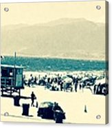 Heavenly Beach In Reach Acrylic Print
