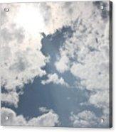 Heavenly Beam Acrylic Print