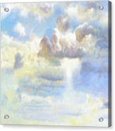 Heavenly Clouded Beautiful Sky Acrylic Print