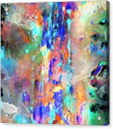 Heavenly Cosmos Series 1993.033014invert Acrylic Print