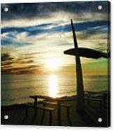 Heavenly Dinner Table Acrylic Print