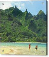 Heavenly Kauai Lagoon Acrylic Print
