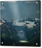 Heavenly Lake Louise Acrylic Print