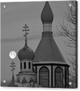 Heavenly Moon Acrylic Print