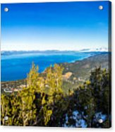 Heavenly South Lake Tahoe View 1 - Right Panel Acrylic Print