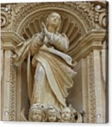 Heavenly Statue Acrylic Print