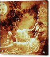 Heavenly Throne Acrylic Print