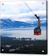 Heavenly Tram South Lake Tahoe Acrylic Print