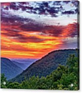 Heaven's Gate - West Virginia 2 Acrylic Print