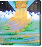 Heaven's Overflow Acrylic Print