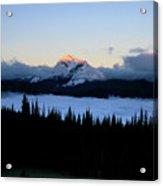 Heaven's Peak Acrylic Print by Dave Hampton Photography