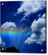 Heavens Rainbow Acrylic Print