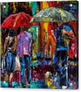 Heavy Rain Acrylic Print