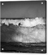 Heavy surf at Avalon Beach Acrylic Print