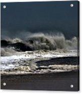 Stormy Surf Acrylic Print