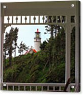 Heceta Lighthouse Acrylic Print