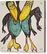 Heckle And Jeckle Acrylic Print