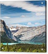 Hector Lake, Canadian Rockies Acrylic Print