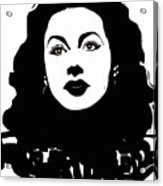 Hedy - Touching The Sublime Acrylic Print