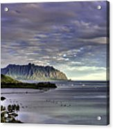 He'eia And Kualoa 2nd Crop Acrylic Print